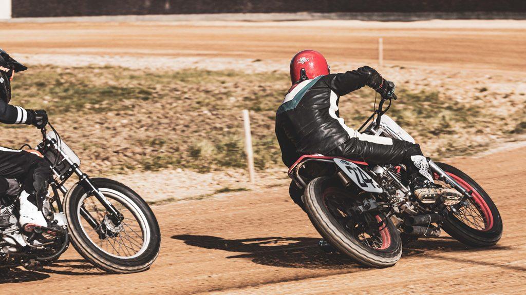 vintage racing spirit flat track france motorcycle mâcon