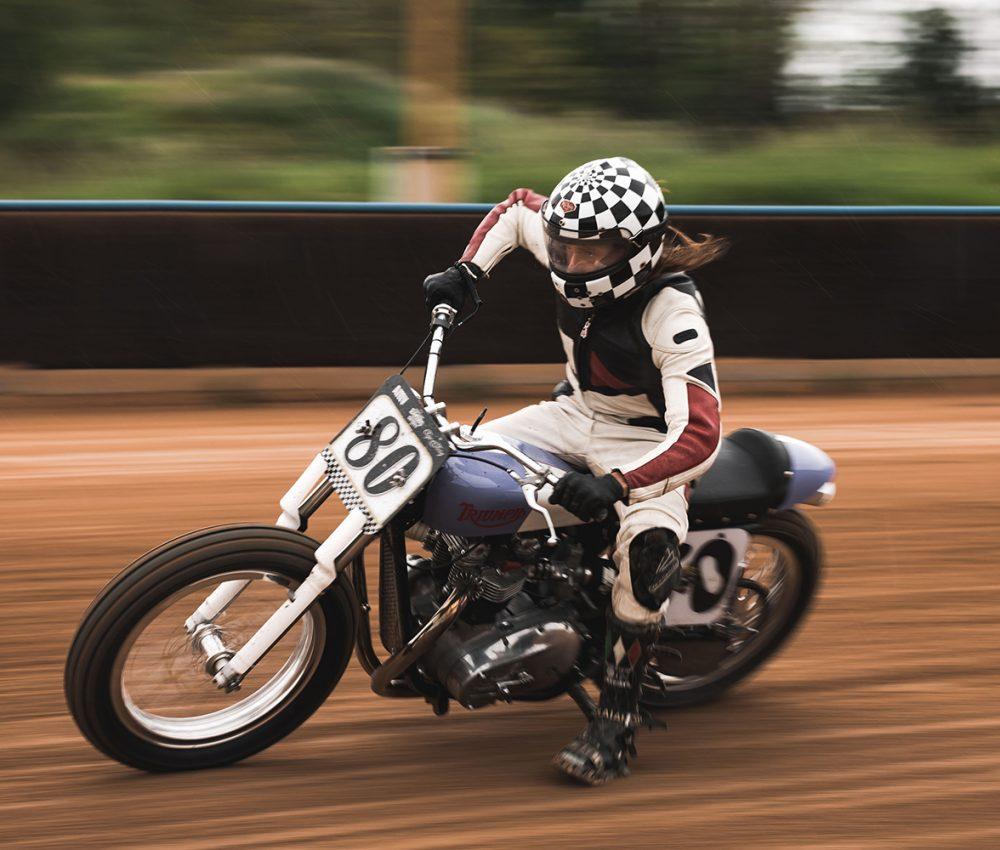 Flat track, Vintage Racing Spirit, Vintage, Motorsports, triumph